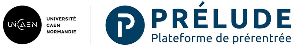 Logo de PRELUDE - La plateforme de pré-rentrée Unicaen